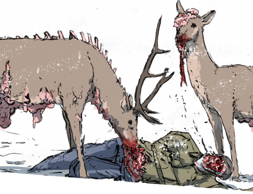 Зомби много не бывает. Мнение о комиксе «Непокорная кровь»