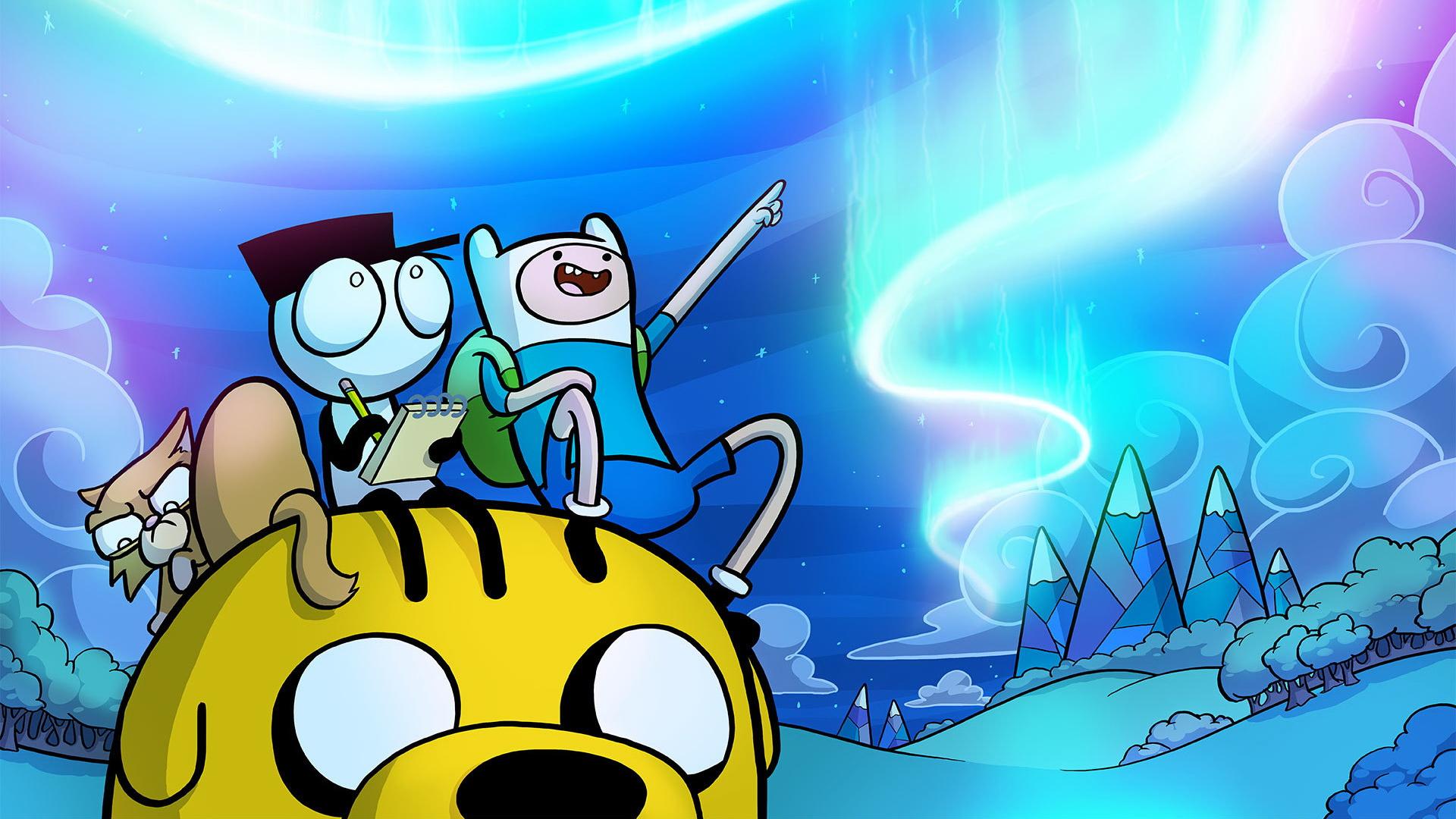 Комиксы Adventure Time
